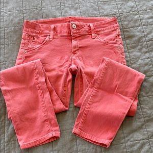 Hudson jeans. Coral color